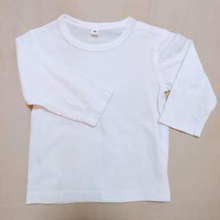 Muji Kids Long Sleeve T-Shirt