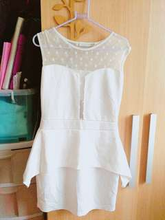 White dress S-M apartment eight