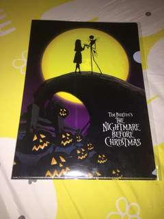 The Nightmare before Christmas A4 Plastic File