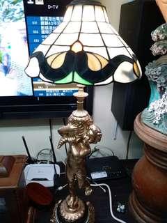 法國古董檯燈
