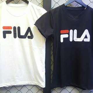T-shirt / kaos fila, gucci, adidas, balenciaga, lv
