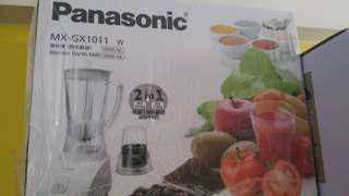 全新Panasonic 攪拌機(附乾磨器)