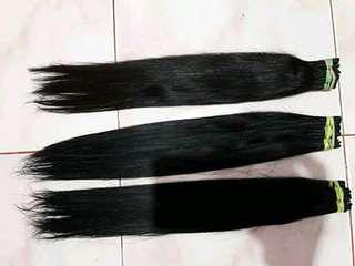 Rambut sambung hair extensio