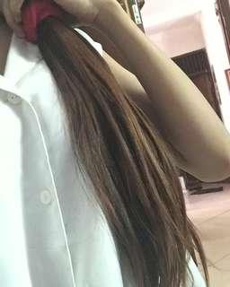 Rambut sambung hair extension