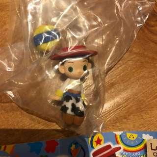 Toy Story 翠斯 Jessie 扭蛋