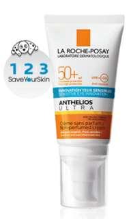 🚚 <Instock> La Roche Posay Anthelios Ultra Cream (sensitive eyes) / Non-perfumed Cream SPF50+