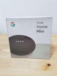 New Google Home Mini Charcoal