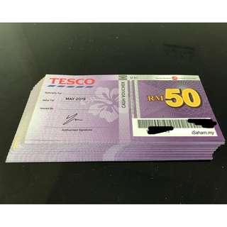 RM92 for RM100 Tesco Voucher
