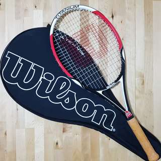Wilson Titanium Six One Comp Tennis Racket