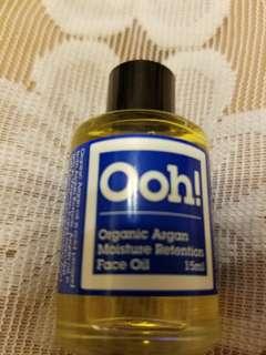 Ooh! - Oils of Heaven Organic Argan Moisture Retention Face Oil 30 ml