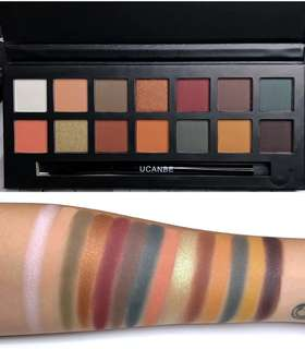 14 color sets Eyeshadow palette