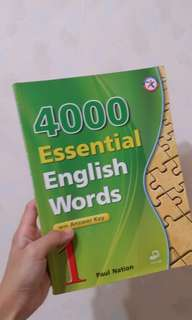 4000 Essential English Words #換你當學霸