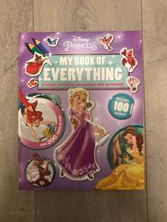 Disney Princess: My Book Of Everything