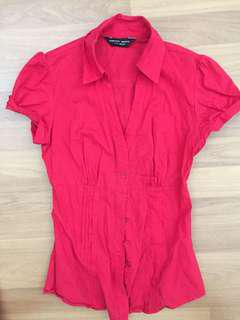 Dorothy Perkins red shirt