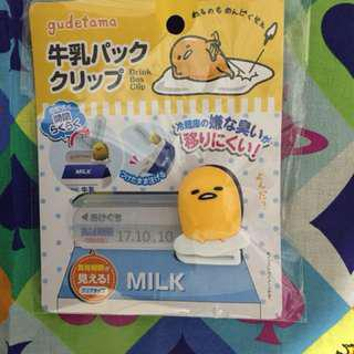 蛋黃哥牛奶盒密封器