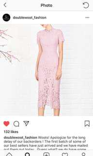 Doublewoot lace dress