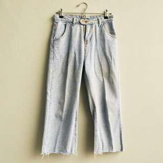 UNBRANDED Cropped Mom Jeans