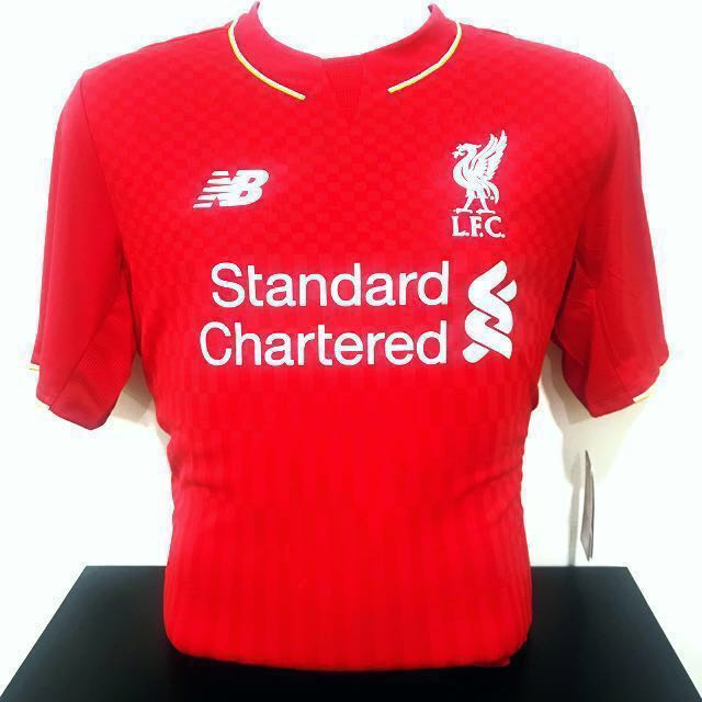 size 40 3e31b ad786 🆕 Authentic Liverpool FC Home Jersey Season 15/16, Sports ...