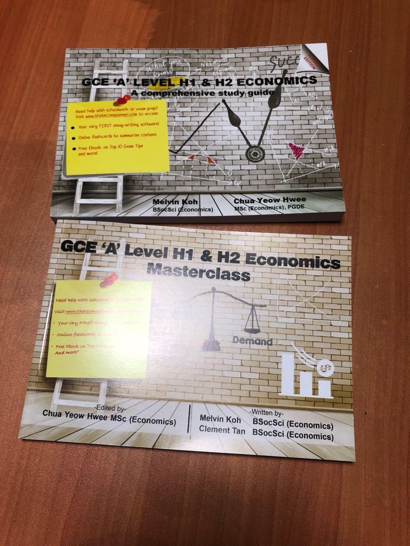 A Level H1 & H2 Economics Comprehensive Study Guide Masterclass