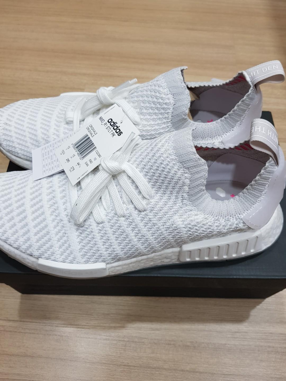 e2631667f Adidas NMD R1 Stlt Pk Triple White US10.5 UK10 BNIB