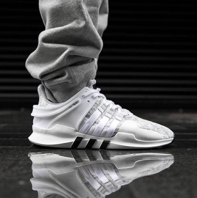 timeless design cef1d ae3c9 Adidas EQT Support ADV 2 Clear Onix/Footwear White/Core Black, Men's  Fashion, Footwear on Carousell