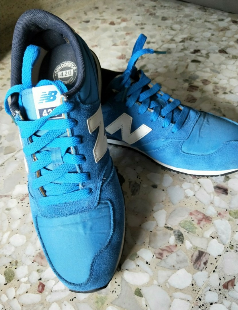 1b4483d7fba03 [AUTHENTIC] PRE-USED New Balance 420 Men 👟, Men's Fashion, Footwear,  Sneakers on Carousell