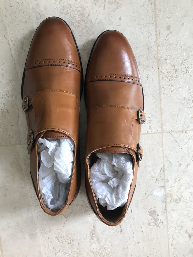 dca0b576bb8a Banana Republic Double Monk Strap Shoes