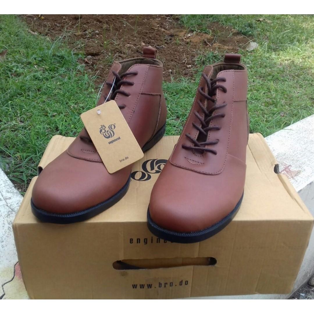 """BRODO   """"Ventura Vintage Brown Black Sole  """" Size 40 d919d4d7b2"""