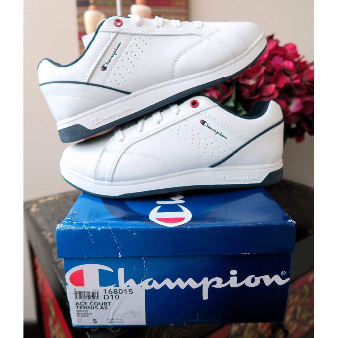 562eda83f Champion Ace Court Casual White Sneakers Shoes
