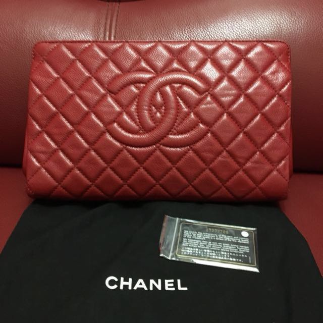 f6a52c400895 Chanel clutch timeless CC qulited , Luxury, Bags & Wallets, Clutches ...