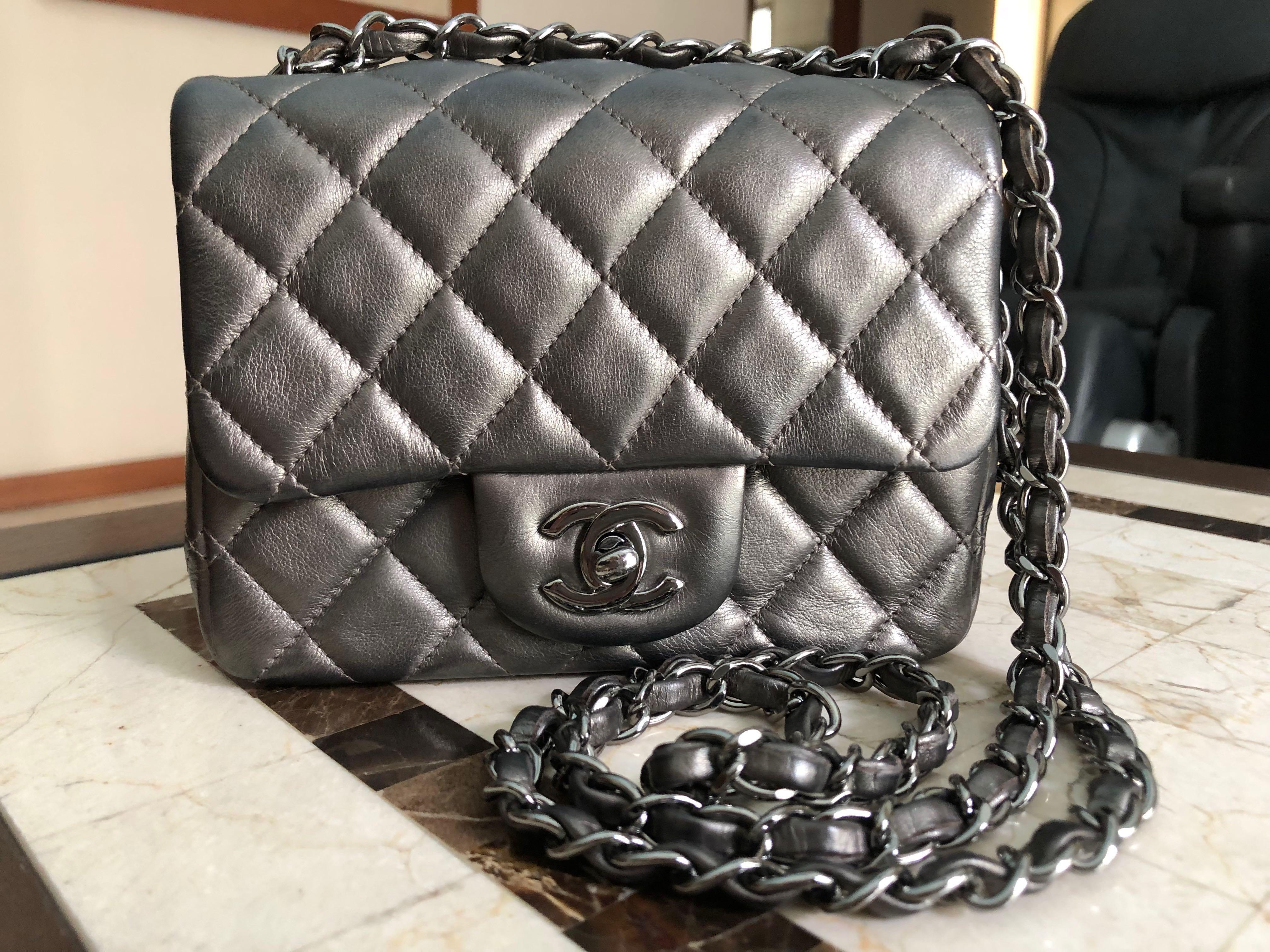 4b8949445531 Chanel Mini Square