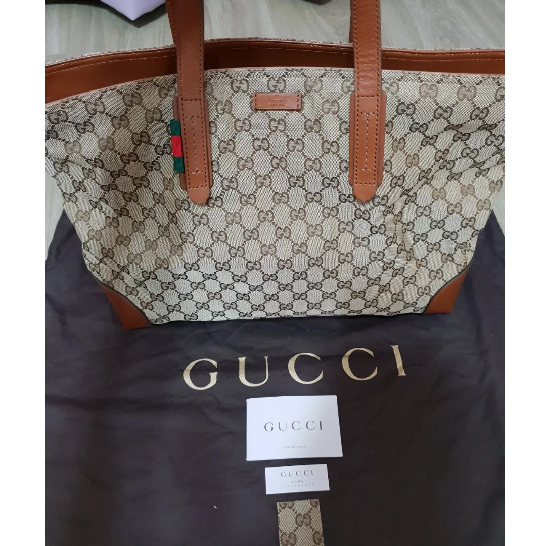 622ba98a65c2f4 Clearance! Original Gucci Tote Bag, Women's Fashion, Bags & Wallets,  Handbags on Carousell