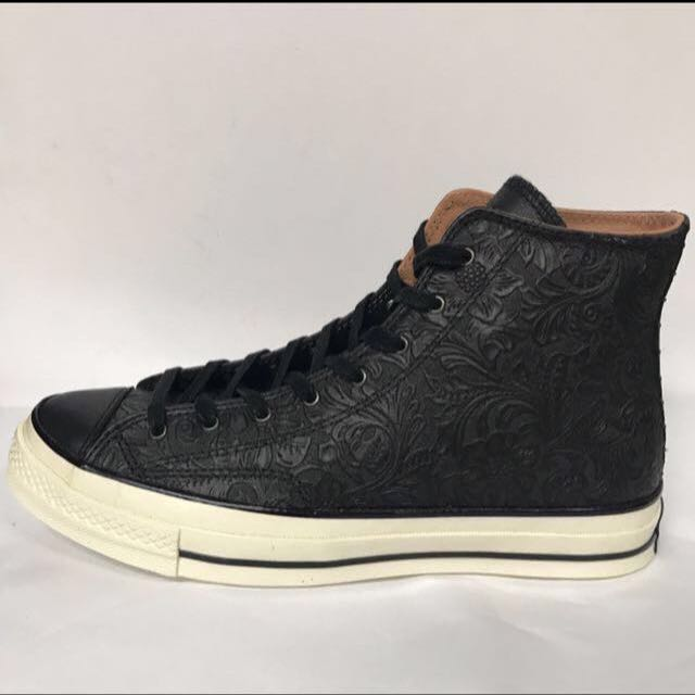 ee2309fb916a CONVERSE 70s CT AS OX LEATHER HI BLACK   CAMEL