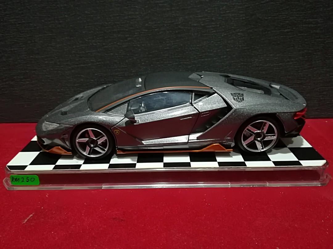 Diecast 1 24 Transformers Lamborghini Centenario Toys Games
