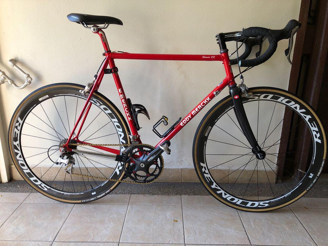 Eddy Merckx Strada O S Bicycles Pmds Bicycles Road Bikes On Carousell