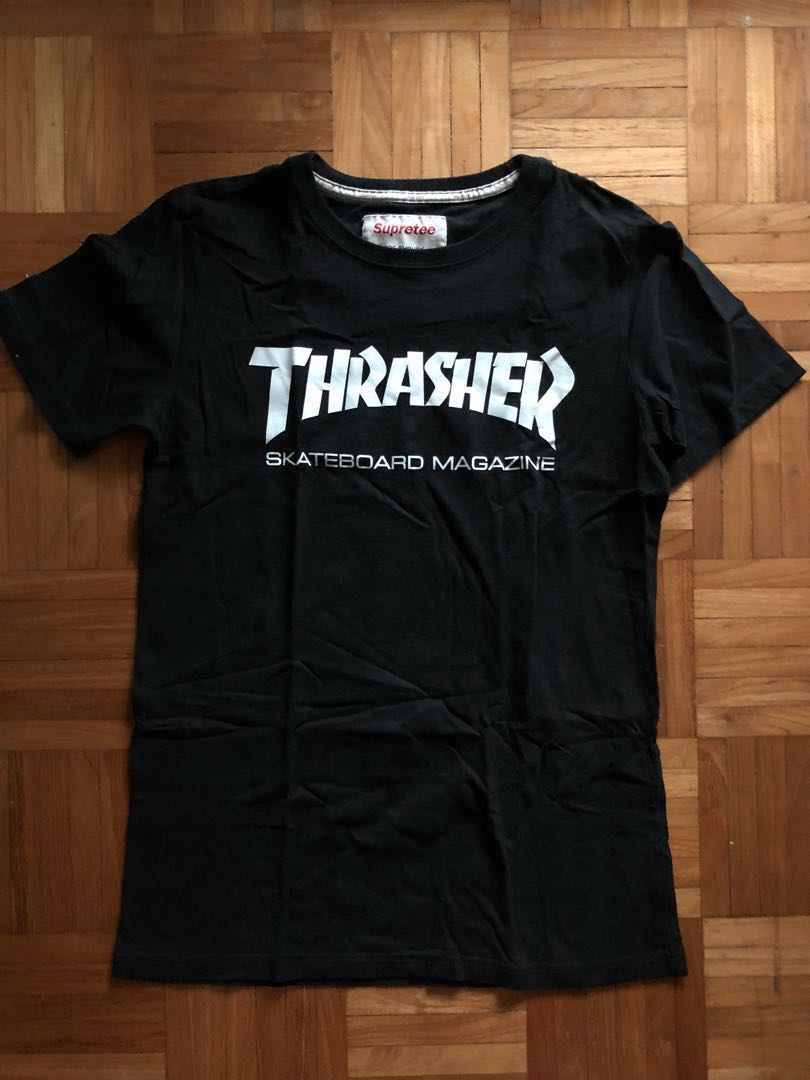397c01ddb2b1 FAST DEAL] Thrasher Skateboard Magazine inspired t-shirt, Men's ...