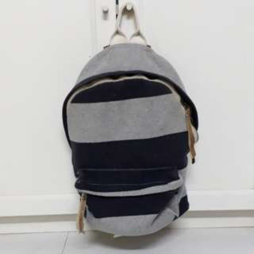 5c39aa1025 FLASH SALES) Brandy Melville FULL SIZED Striped Backpack, Women's ...