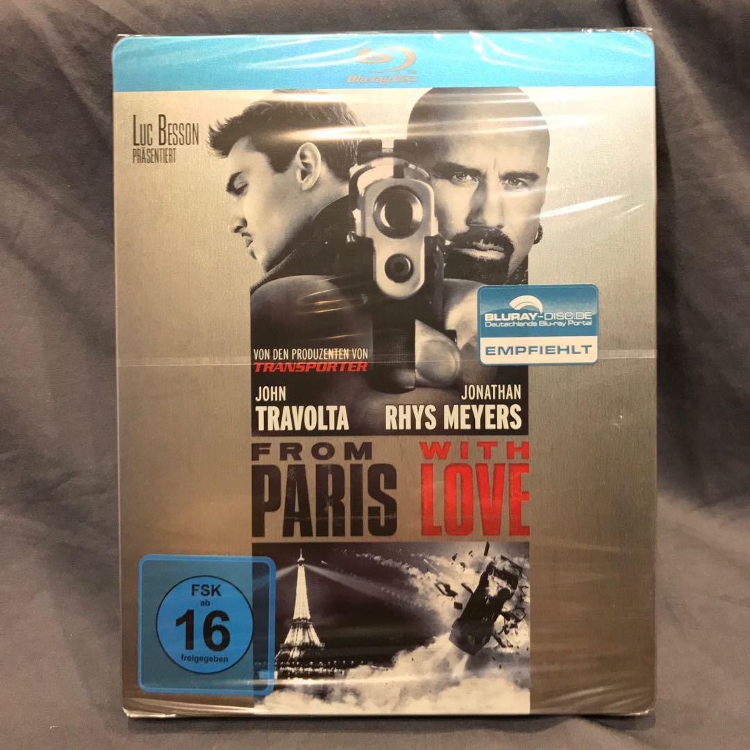 FROM PARIS WITH LOVE Blu-ray Steelbook Germany Bluray US$20 | S$24