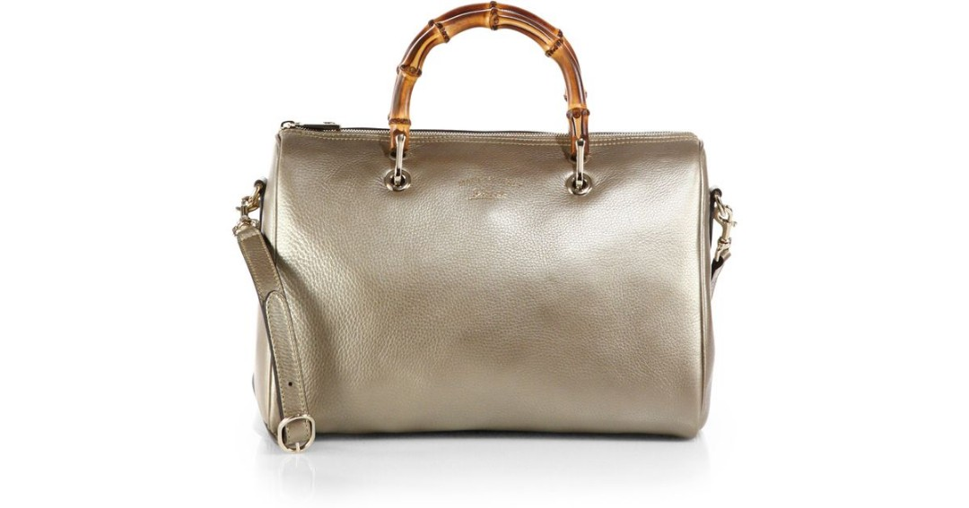 c6d4fd1cac0f Reduced! Gucci bamboo shopper Boston bag, Luxury, Bags & Wallets ...