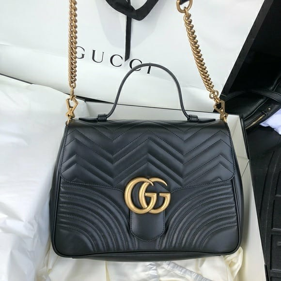 c848ce730ad Gucci gg marmont top handle authentic