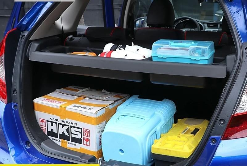 Honda Fit \/ Honda Jazz Boot Shelf Organiser Accessories, Car Accessories, Accessories on Carousell