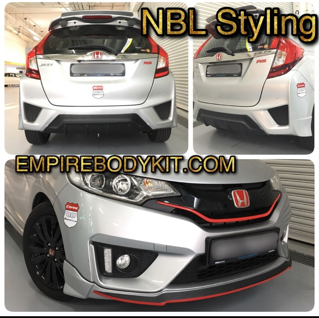 Honda Jazz Noblelesse Bodykit Car Accessories Accessories On Carousell