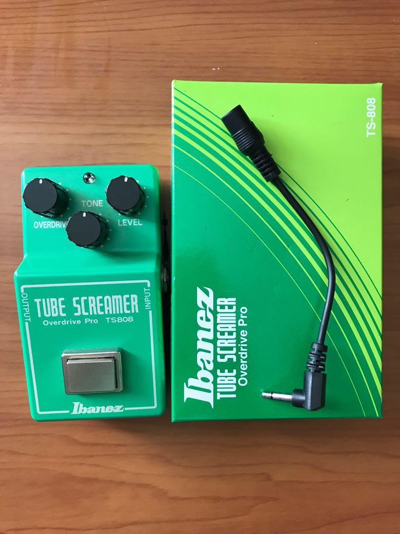 Ibanez Tube screamer ts808 overdrive, Music & Media, Music