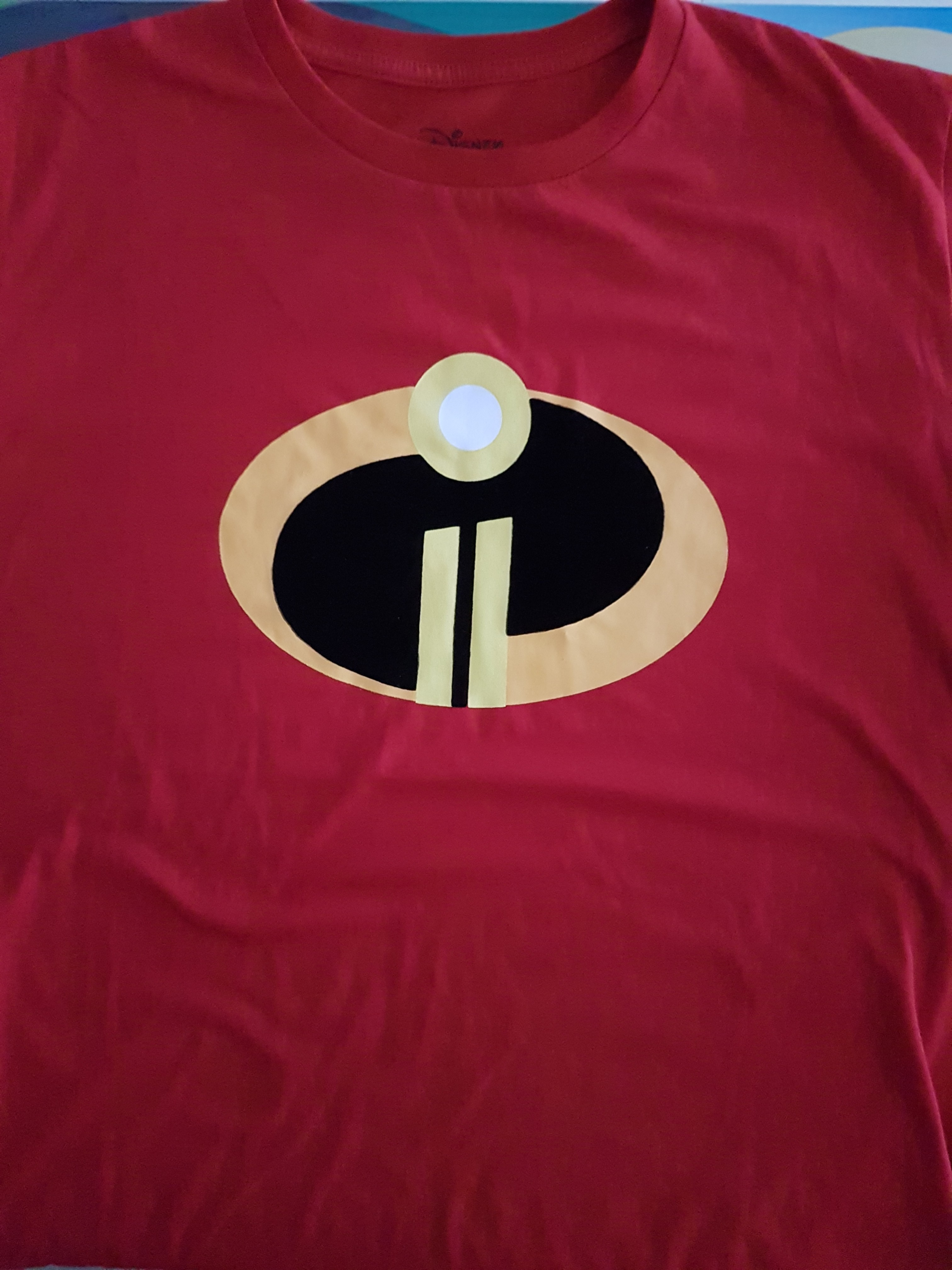 7eedc9cb Incredibles T shirt M size, Men's Fashion, Clothes, Tops on Carousell