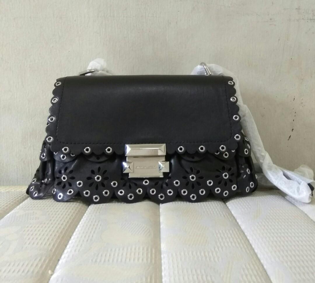💗Sale  275💗 Michael Kors Sloan small floral scallop shoulder bag ... 898fcdca32538