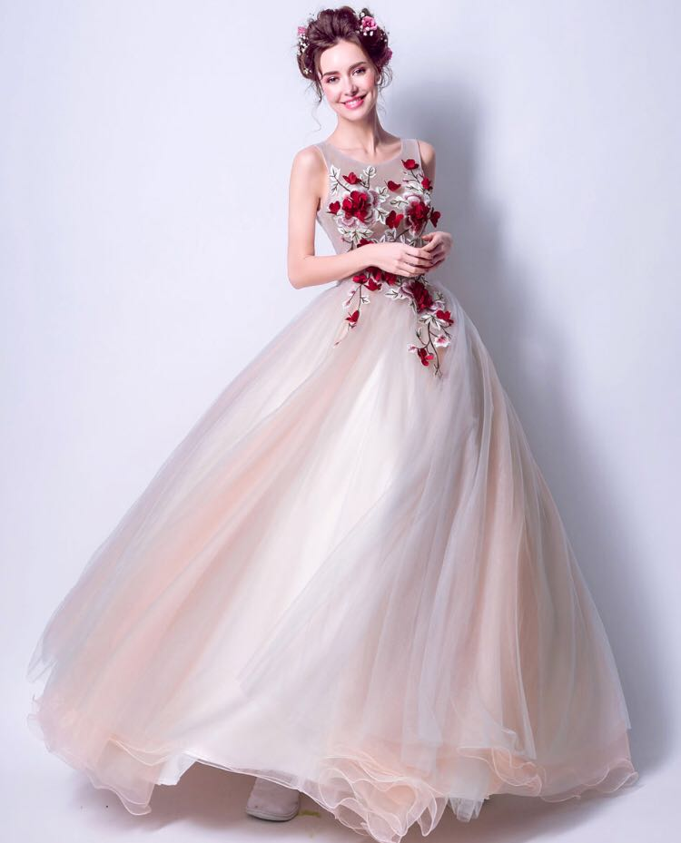Instock Pale Pastel Ball Gown, Women\'s Fashion, Clothes, Dresses ...