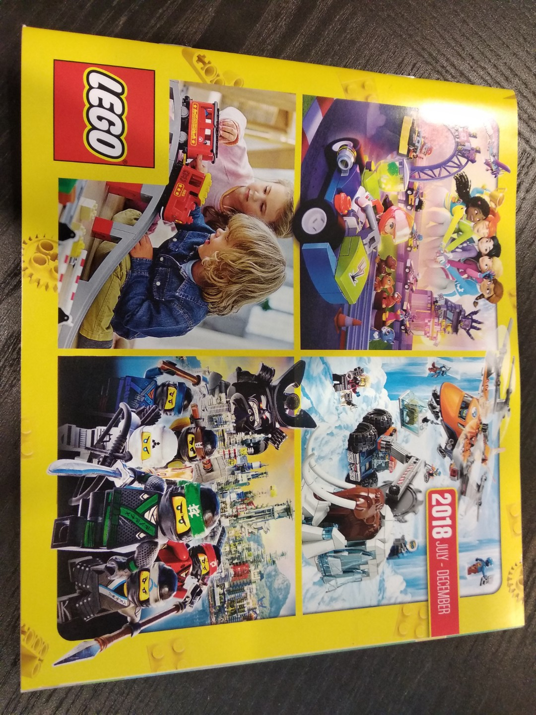 Lego 2018 July-December Catalogue