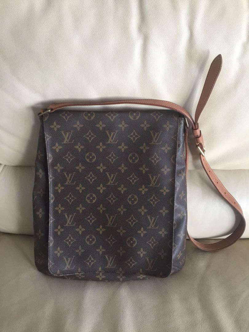 a4af652852ac Louis Vuitton Sling Bag Authentic