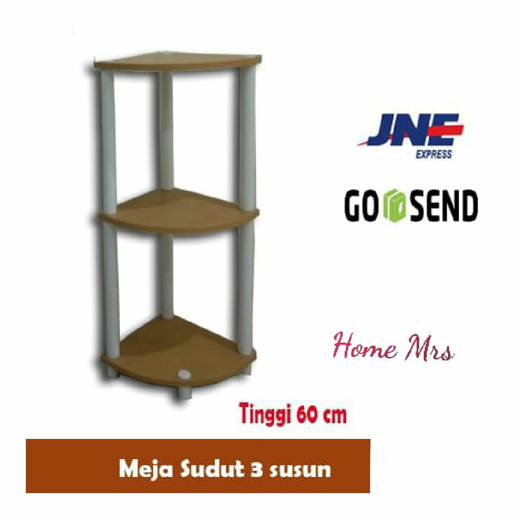 Meja Sudut 3 Tingakat Minimalis Murah Home Furniture On