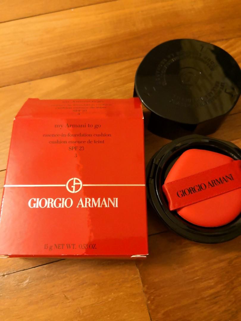 My Armani To Go Essence In Foundation Cushion Refill No 3